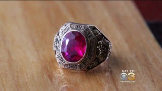 Woman Finds St. Hubert Class Ring From 1949