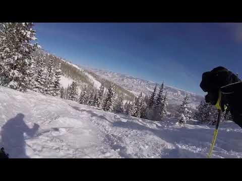 JBThree.com Snow Skiing Aspen 2018 - JB3 powder skiing Big Burn Snowmass