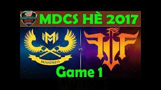 7 6 2017 highlight game 1 gam vs rog friends vcsa ma h 2017