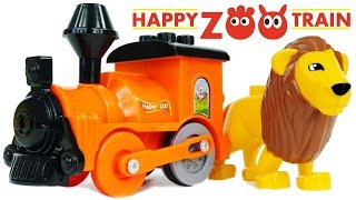 BLOCK Happy Zoo Train Animals in the Zoo Lion Elephant and Giraffe Toys VIDEO FOR CHILDREN(BLOCK Happy Zoo Train Animals in the Zoo Lion Elephant and Giraffe Toys VIDEO FOR CHILDREN ..., 2016-03-01T13:31:35.000Z)
