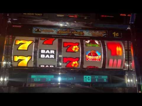 Hawaiian Goddess slot machine at Sands casino