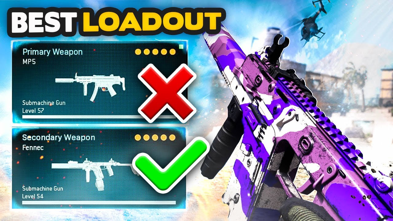 Warzone Best Fennec Class Setup Better Than The Mp5 Warzone Best Loadout Youtube
