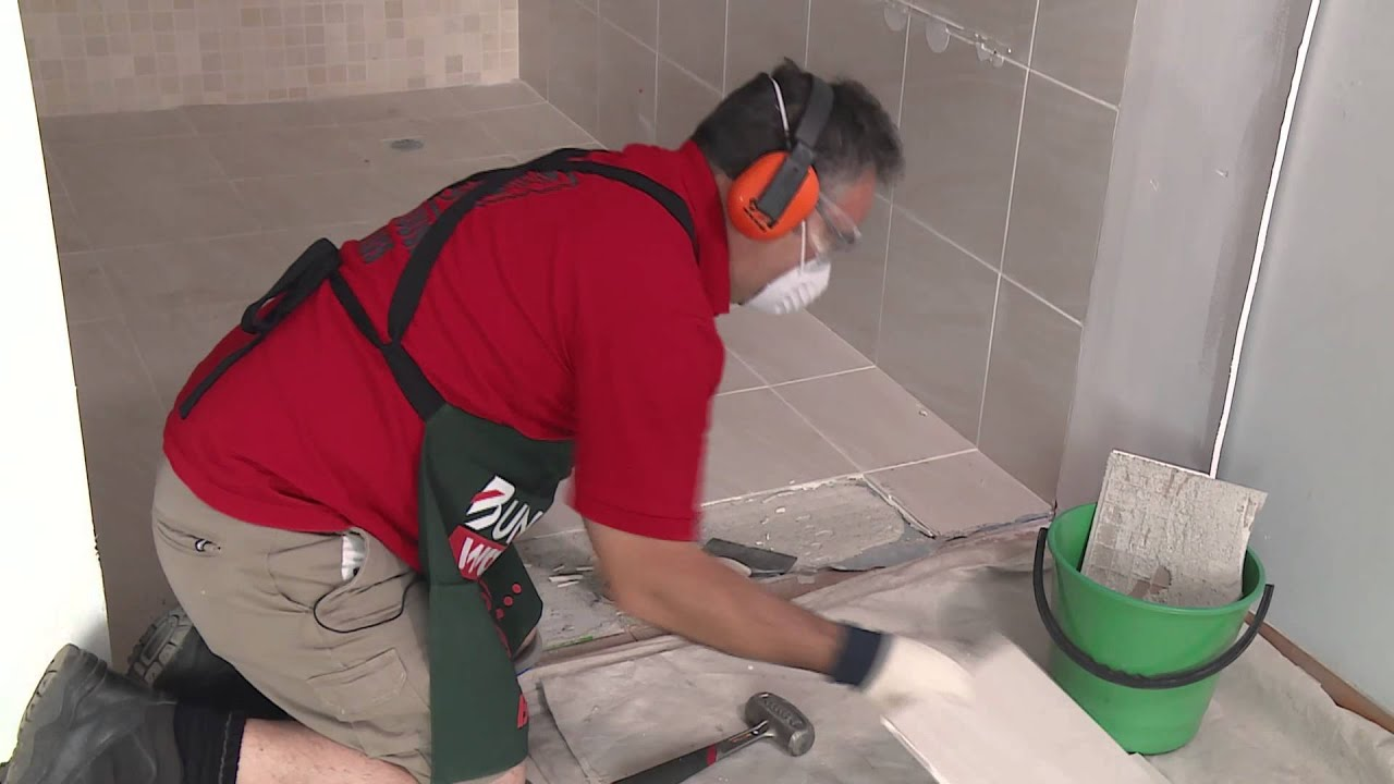 How to remove floor tiles diy at bunnings youtube how to remove floor tiles diy at bunnings dailygadgetfo Gallery