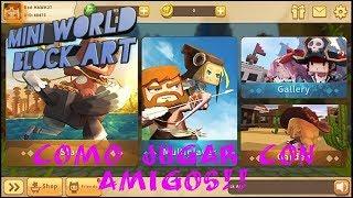 Mini World Como jugar con amigos!