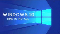 Windows 10 May 2019 update How long does it take to install and how does it install itself