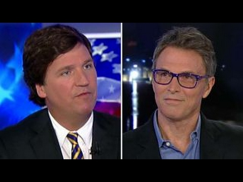 Tucker vs Tim Daly over the 'right to bear arts'