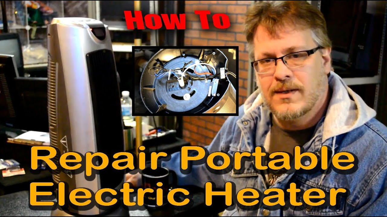 how to repair a portable electric space heater [ 1440 x 806 Pixel ]