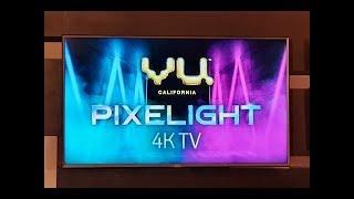 Vu Pixelight 138cm (55 inch) Ultra HD (4K) LED Smart TV  (55-QDV / 55-QDV V1) - Vu Pixelight Series