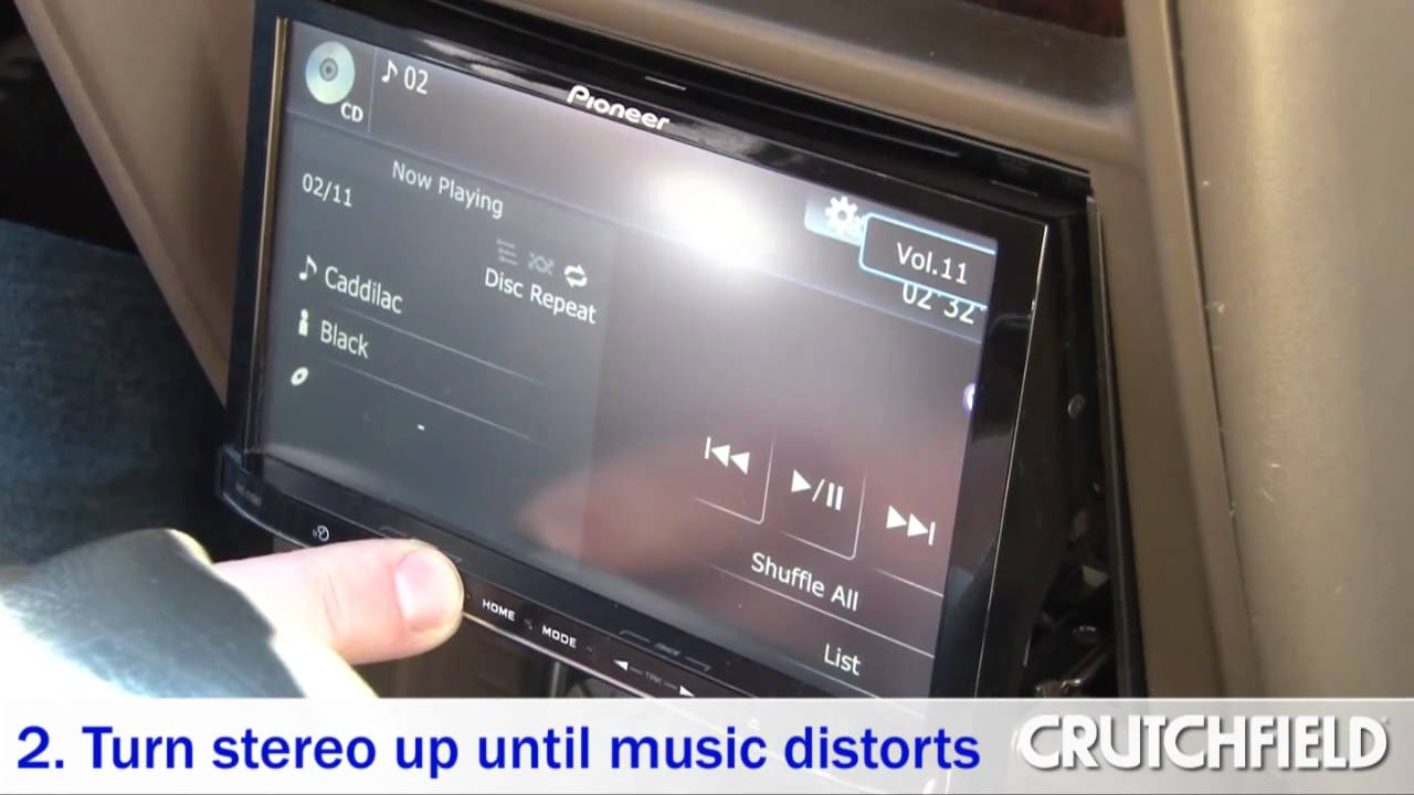 how to set your car amp s gain for the best sound crutchfield video [ 1280 x 720 Pixel ]