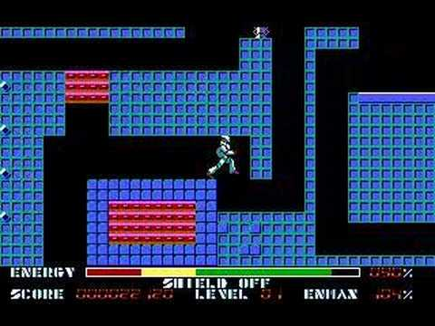 Thexder for Tandy - Level 1