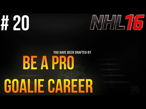 """NHL 16 Be A Pro – Goalie Career ep. 20 – """"Getting Drafted!"""""""