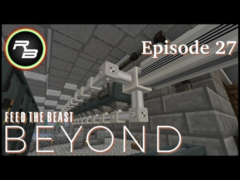 Modded Minecraft : FTB Beyond : Ep 27 : Automated Ore Processing (Applied Energistics 2)