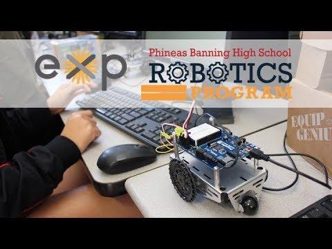 EXP Robotics Program at Phineas Banning High School 2019