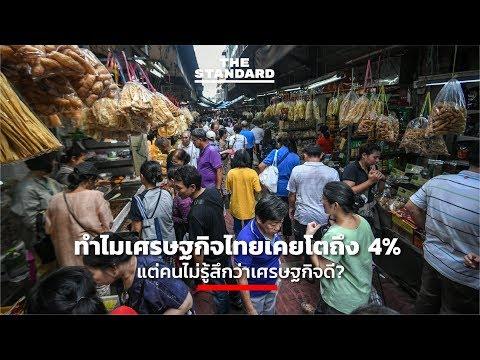 ทำไมเศรษฐกิจไทยเคยโตถึง 4% แต่คนไม่รู้สึกว่าเศรษฐกิจดี?