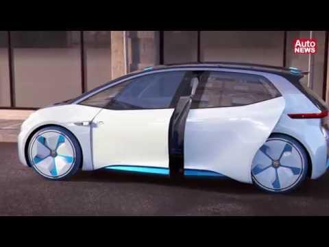 VW-Elektrostudie I.D. mit autonomem Modus soll 2020 kommen