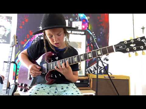 Martha Quinn - 9-Year-Old Guitarist Crushes  A Guns N' Roses Classic On Ellen