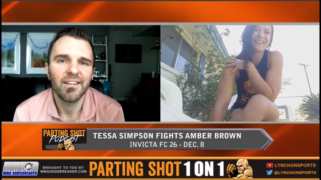Tessa Simpson talks Invicta FC 26, Training Full Time and Gun Range