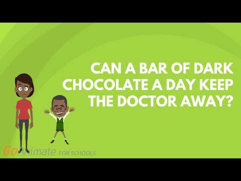 Can a bar of dark chocolate a day keep the doctor away?