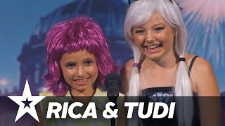 Rica & Tudi | Danmark Har Talent 2017 | Audition 1