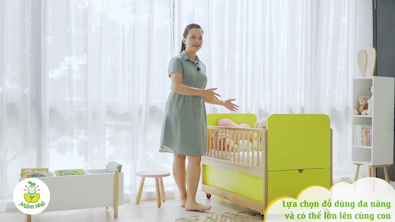 Download Cùng Hot mom Minh Trang trải nghiệm nôi cũi 3in1   DSDkids