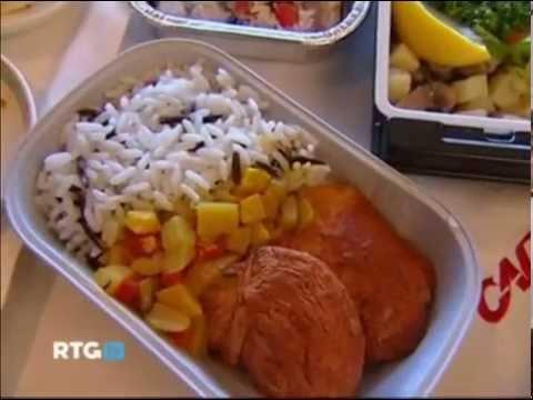 Питание в высокоскоростных поездах Сапсан, видео