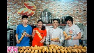 Dạy cách làm Bánh Mì Việt Nam cho người nước ngoài - Mang văn hóa đi khắp năm châu