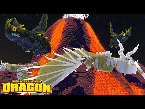A NEW VOLCANO DRAGON?!  How To Train Your Dragon wTinyTurtle