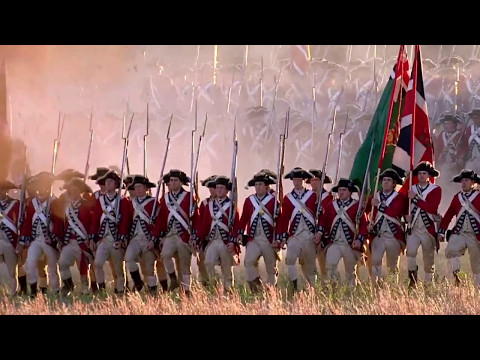The British Grenadiers song (Redcoats from The Patriot)