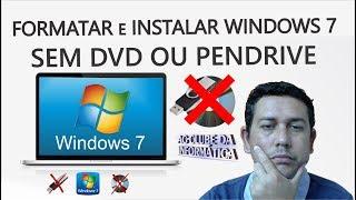 Gambar cover Como Formatar e Instalar Windows 7, sem DVD ou pendrive
