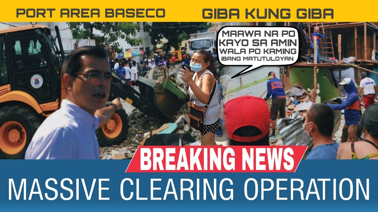 Baseco Compound Clearing Operation