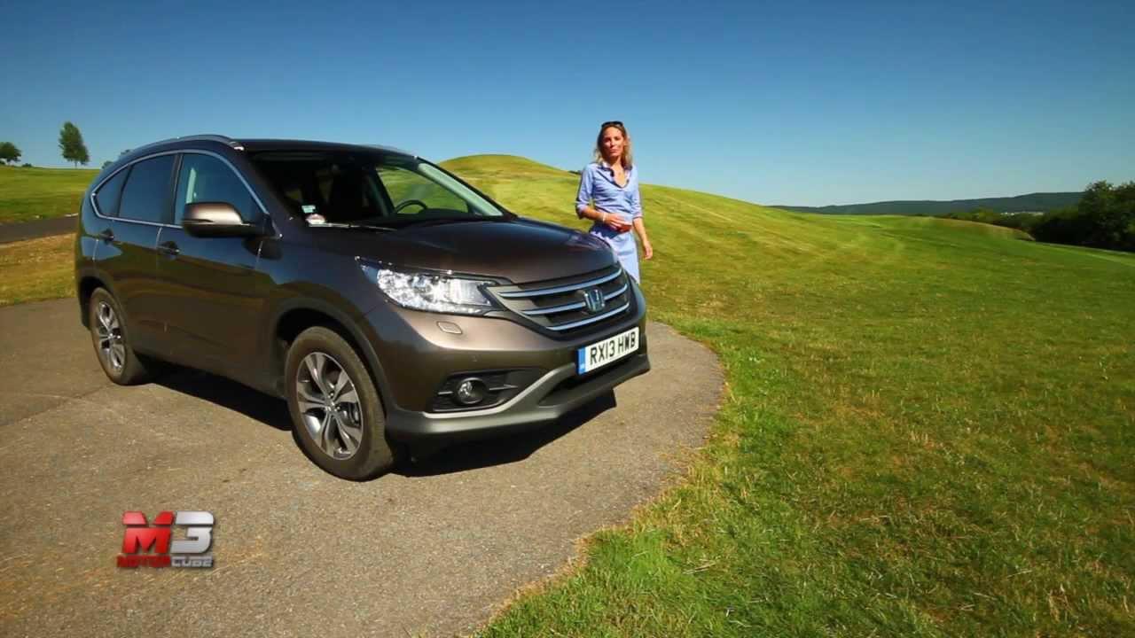 HONDA CRV 1.6 i-DTEC 2013 - TEST DRIVE - YouTube