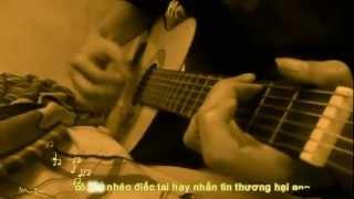 Thằng đấy (sub) (Người ấy chế) - guitar version by thanhdj