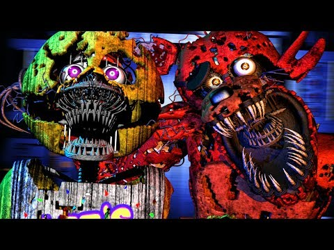 THESE NEW ANIMATRONICS ARE PURE NIGHTMARE FUEL.. || FNAF Post Shift Night 1 (EARLY GAMEPLAY)