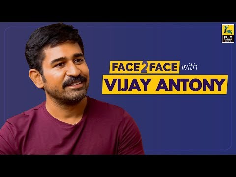 Vijay Antony Interview With Baradwaj Rangan | Face 2 Face