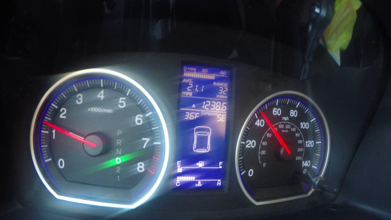 2011 Honda CRV EX Transmission Shudder