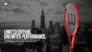 PRO STAFF RF97 Autograph LAVER CUP Edition Red in Wilson Red