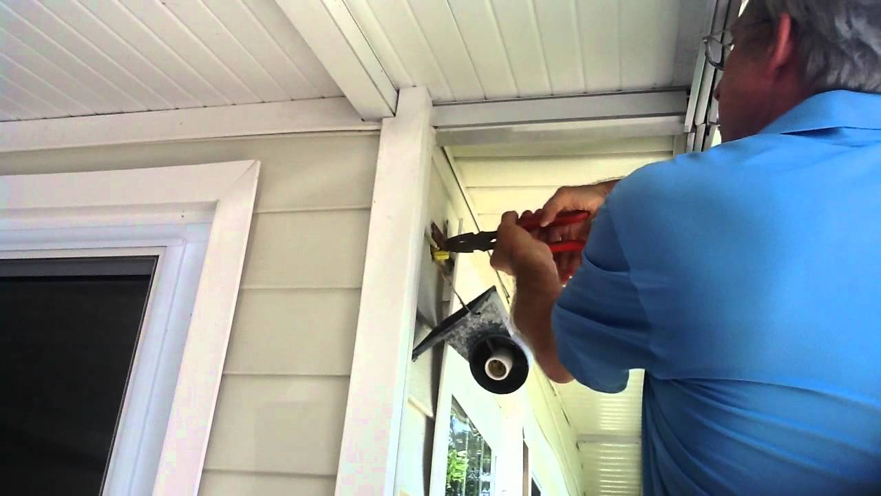 How to remove outdoor light fixture youtube how to remove outdoor light fixture arubaitofo Choice Image
