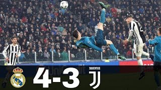 Real Madrid vs Juventus 4-3 Goals & Highlights w/ English Commentary UCL 2018/19 HD 1080p