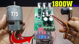 Test and Upgrade PWM DC  Motor…