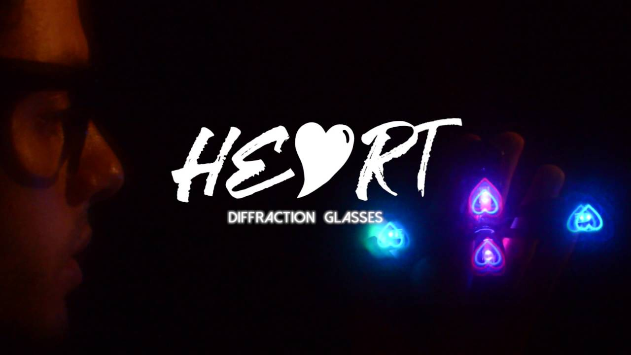 d44a22911b0 GloFX Glasses Trailer  The Original Heart Diffraction Glasses - YouTube