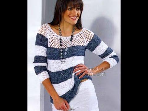 Вязать пуловер женский