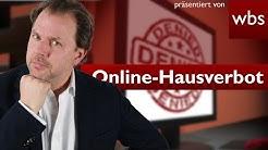 Können Betreiber von Foren virtuelles Hausverbot erteilen? | Rechtsanwalt Christian Solmecke