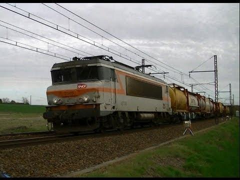 Des Trains Entre Tours & Poitiers (BB9300, BB 7200, BB 26000...)