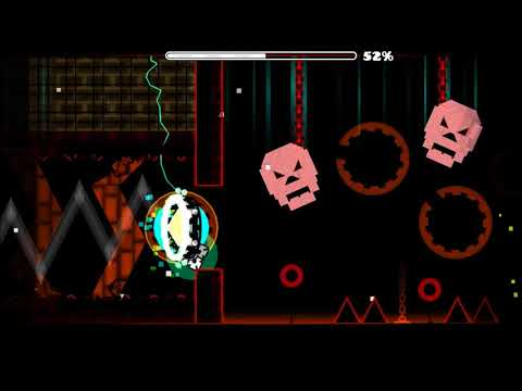 Geometry Dash l Night Terrors (Demon) by Heinz (Rebeat)