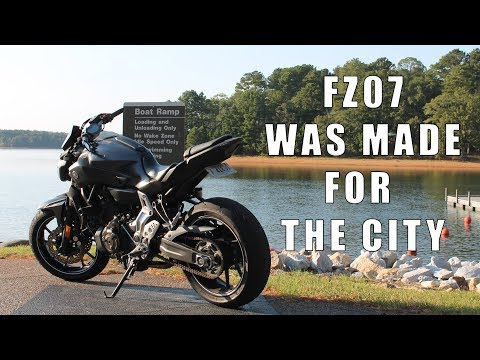 Yamaha FZ-07 (MT-07) Review - My Take