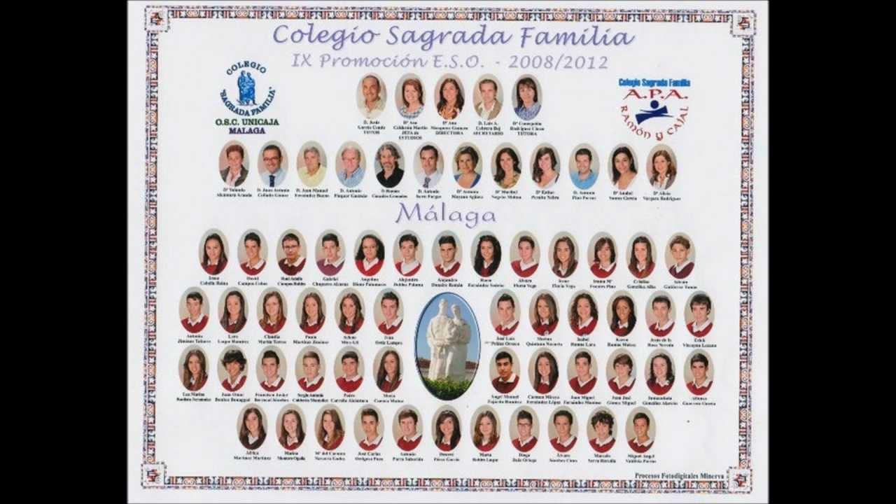 Graduacion sagrada familia 2012 youtube for Colegio sagrada familia malaga ciudad jardin
