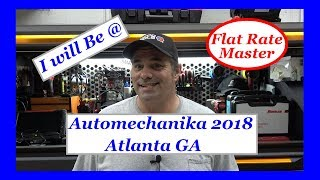 Automechanika 2018 Atlanta GA