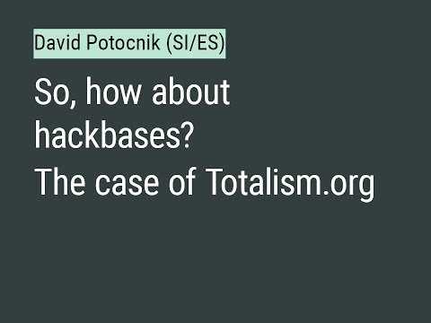 #SWAP: David Potocnik (SI/ES totalism.org)