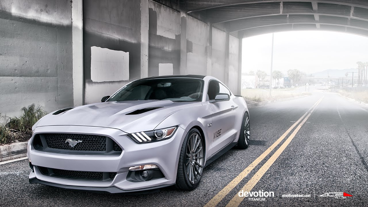 2015 ford mustang gt 5 0 on 20 ace devotion wheels rims youtube. Black Bedroom Furniture Sets. Home Design Ideas