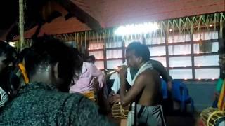 Thullankara Vela - 2018 - Folk Music and dance, Vattamudiyattam.
